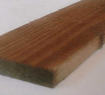 boards 2.4x19x100 green treated