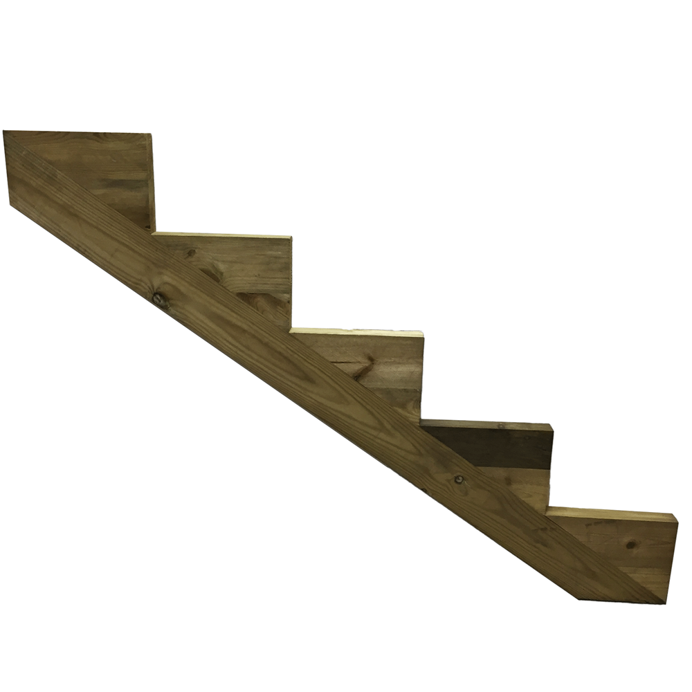 5 Step Decking Stair