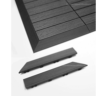 UltraShield Grey Deck Tile Fascia External