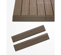 UltraShield Teak Deck Tile Fascia Straight