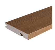 2.2m UltraShield Teak Bullnose Composite Boards
