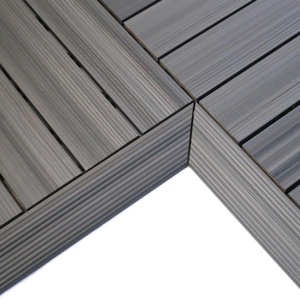 ultrashield grey deck tile fascia internal. Black Bedroom Furniture Sets. Home Design Ideas