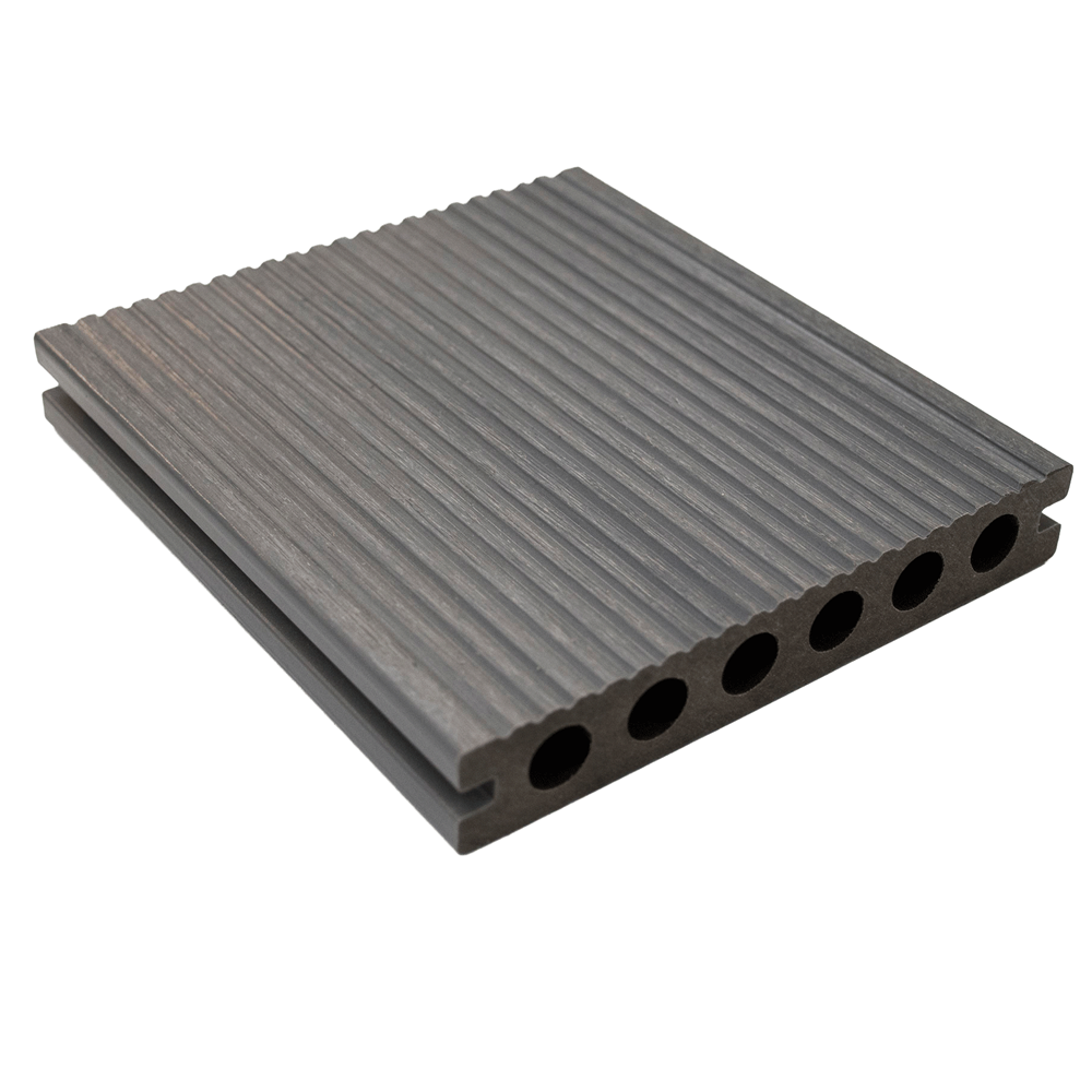 ultrashield grey composite decking boards