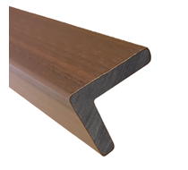 2.2m UltraShield Teak Angle Edging