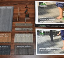 UltraShield Composite Decking Samples