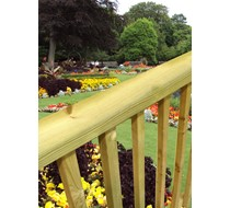 American chunky decking handrails for Decking boards glasgow
