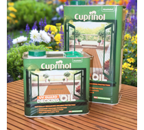Cuprinol UV Guard Decking Oil 5L Natural Cedar