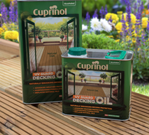 Cuprinol UV Guard Decking Oil 5L Natural Oak