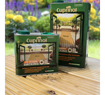 Cuprinol UV Guard Decking Oil 2.5L Natural