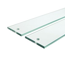"Fortress pack of 5 x 40"" glass for handrail system"