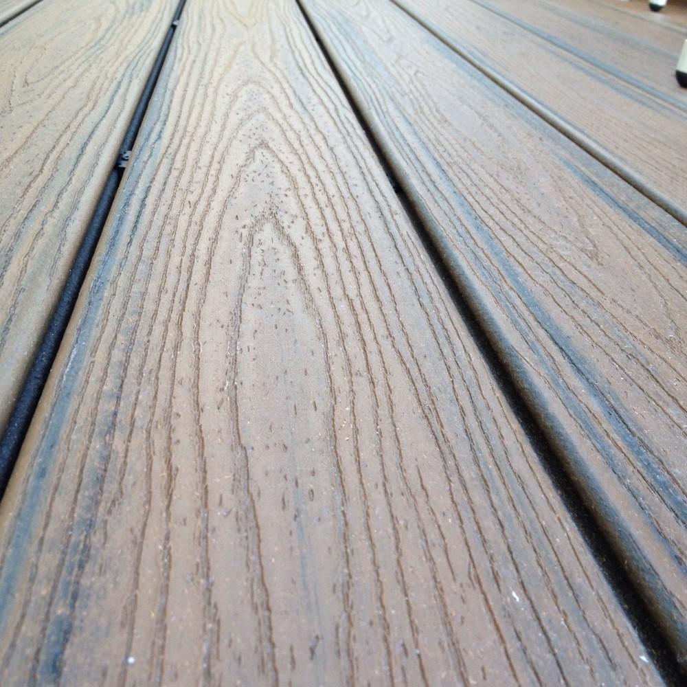 3 6m Trex Transcend Spiced Rum Decking Boards