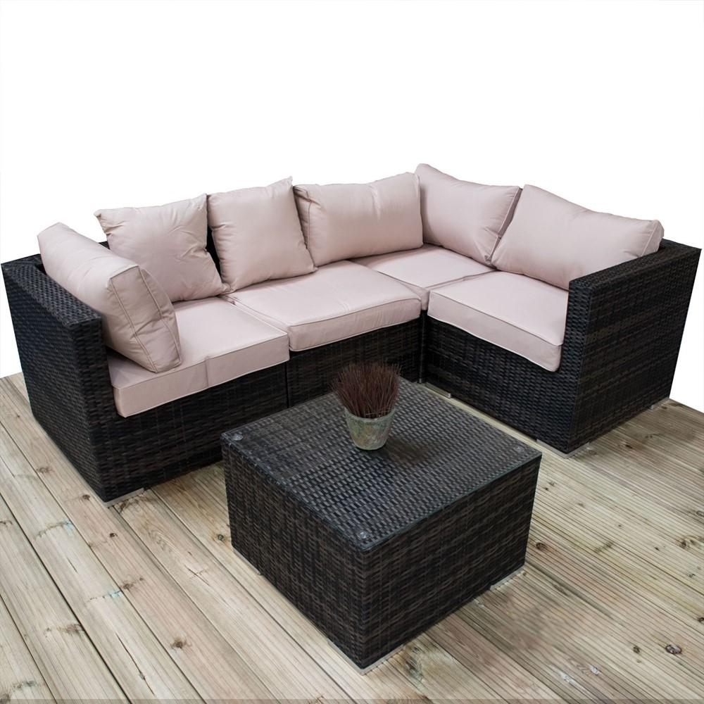 Modular Sofa Set 5 Piece FULLY ASSEMBLED