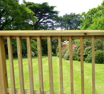 American Chunky Decking Handrails